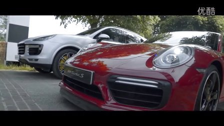 2017 保时捷卡宴对抗 911 Cayenne Turbo S vs 911 Turbo S