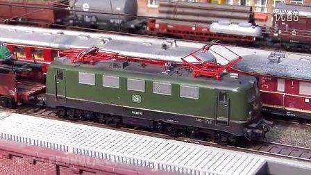 火车视频 德国铁路 火车模型 ho 轨道 模型火車