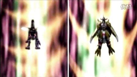 冲锋眼镜蛇制作—【数码宝贝】不同版本奥米加兽合体动画