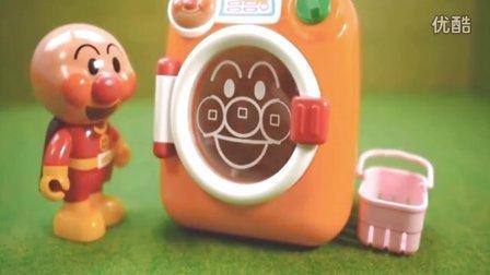 面包超人洗衣机玩具 健达奇趣蛋惊喜蛋海绵宝宝出奇蛋玩具蛋拆蛋视频 粉红猪小妹小猪佩奇熊出没之超级飞侠亲子游戏
