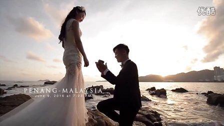雅文和雅兰浪漫求婚