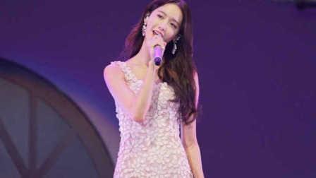 少女时代美颜代表允儿中文10级演唱《小幸运》饭拍