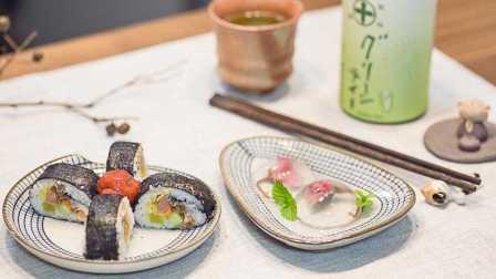 【女神大宝贱】水信玄饼+肉松寿司=夏日祭的快手便当