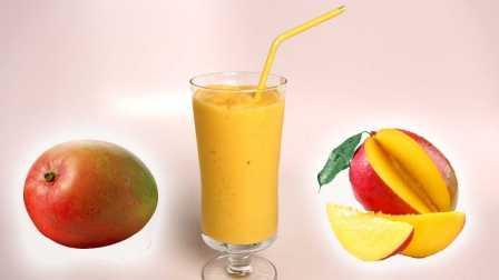 【劳拉厨房物语】教你做快捷健康的芒果香蕉沙冰 @柚子木字幕组