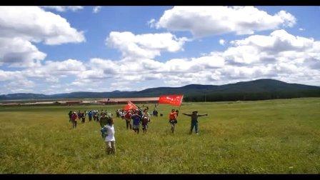三人行160队员乌兰布统大草原穿越13.10