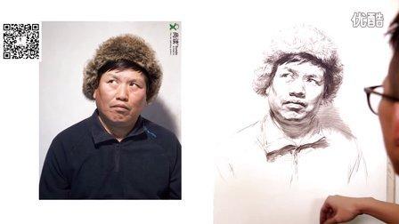周杨老师男中年头像示范