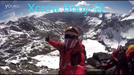 昆明街舞培训  Xcrew街舞俱乐部Bboy刘燚登峰视频