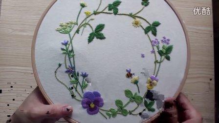 春季花环材料包同步视频教程