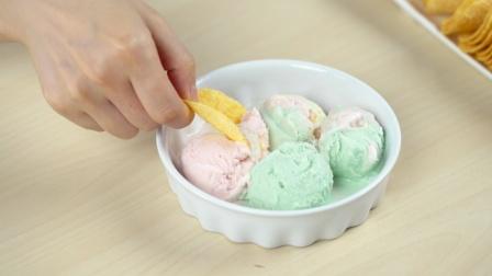 罐头小厨 第一季 冰淇淋的4种混搭吃法 14