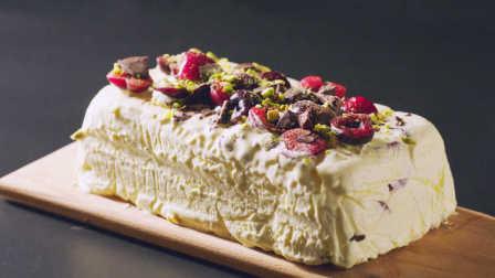 【鹦鹉小厨】每口都有真果肉!超越哈根达斯的樱桃黑巧半冻冰激凌