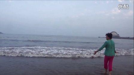 风中梅花快乐旅行记之三:夕阳、沙滩、海浪