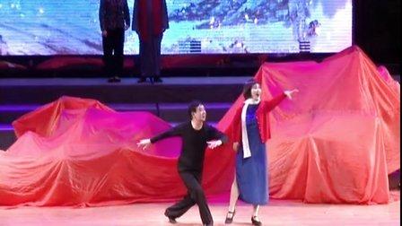 海伦市老干部艺术团参加庆祝建党95周年文艺演出表演的节目:绣红旗