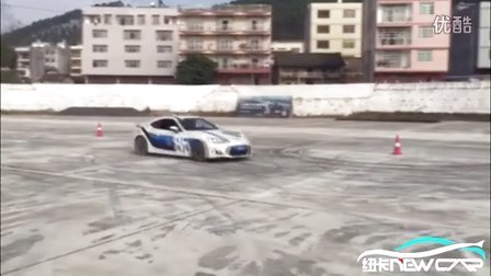 广西纽卡车队梁队卡丁车/GT86绕桩漂移