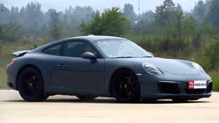 ams车评网 威sir测试场 高标准 严要求 测试保时捷911卡雷拉S 3.0T