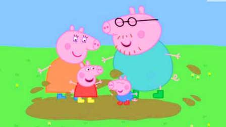 粉红猪小妹猪爸爸妈妈一起玩泥坑!迪士尼 喜羊羊 大头儿子 愤怒的小鸟 熊出没 超级飞侠 小马宝莉面包超人 小猪佩奇 水果切切看猪猪侠 爱探险的朵拉