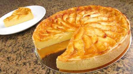 【Mery西厨西点】简单自制家庭苹果蛋糕 @柚子木字幕组