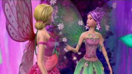 芭比之梦想豪宅动画片芭比花仙子装扮