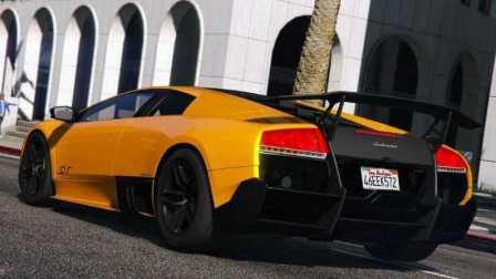 《GTA5》汽车mod #100兰博基尼 蝙蝠 LP 670-4 SV【近代跑车设计的革新】