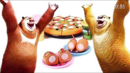 熊出没倒霉熊之秋日团团转,蜡笔小新larva爆笑虫子,赛尔号橡皮泥彩泥过家家食玩具视频