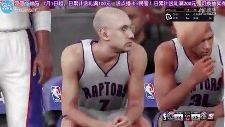 NBA2K16终极联盟-NBA总裁肖华首秀!怒砍51分!