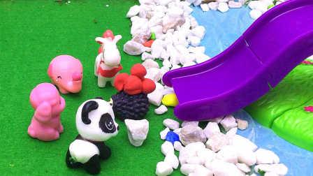 月采亲子游戏 2016 刺猬帮小动物们摘果子吃