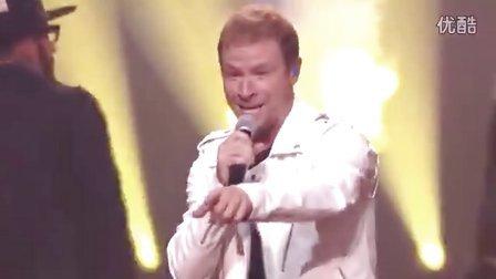 【泪奔】后街男孩 Backstreet Boys 超燃现场演绎经典舞曲 Everybody