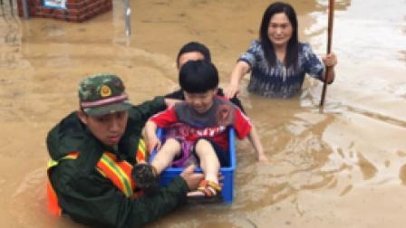特大洪水冲走瞬间水啸雾都湖北洪水湖泊炸弹爆破武汉洪水不指望长江三峡分洪