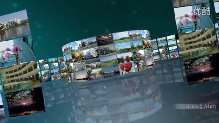 小米丨Maya丨AE丨三维照片墙 清职院校园风景