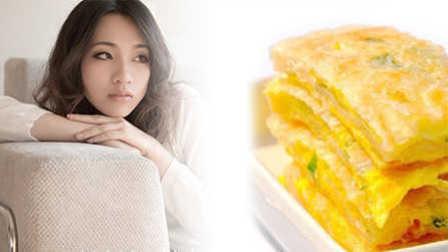 营养美食:葱花鸡蛋饼