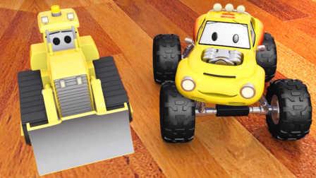 大脚卡车卢卡斯 第3集 推土机