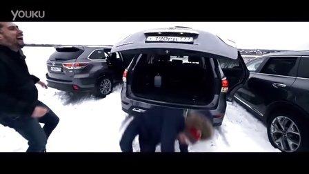 毛子哥细细评测丰田汉兰达、起亚索兰托、日产探路者、Toyota Highlander Kia Sorento Prime Nissan Pathfinder