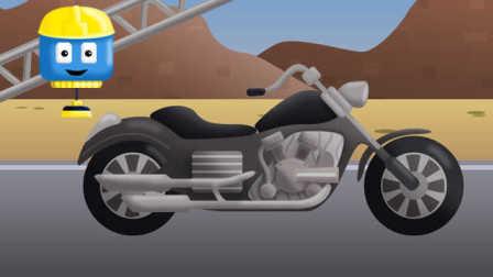 工程车汤姆和迈特 第13集 摩托 中文