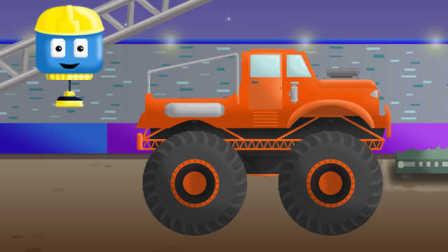 工程车汤姆和迈特 第16集 巨轮车 中文