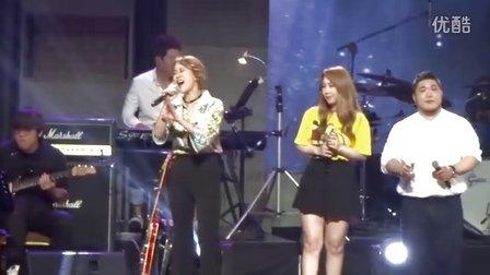 """白智英韩国SBS电视台现场演唱""""不要忘记我""""20160720"""