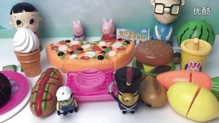 小猪佩奇的玩具世界 2016 日本食物玩具 大头儿子小头爸爸 28