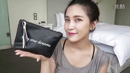 What's In My Makeup Bag 夏日旅行化妆包分享|黄小米Mii