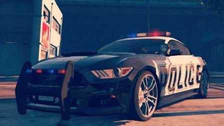 《GTA5》汽車mod #112福特 野馬 警車【高速取締單位特輯篇4】