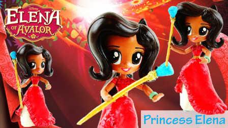 迪士尼 阿法隆公主艾琳娜 彩虹小马 小马国女孩 美丽定制娃娃创作油漆 Disney Elana of Avalor