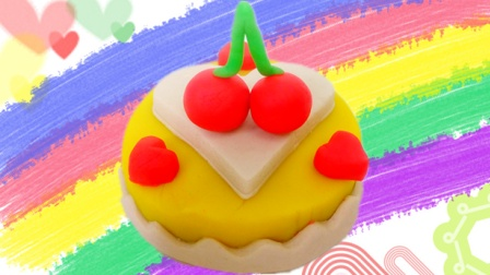 白雪玩具屋 2016 樱桃水果心形蛋糕 樱桃水果心形蛋糕