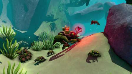 海底大猎杀《Feed and Grow: Fish》小小鱼儿成长记 Ep.7 螃蟹大王的逆袭
