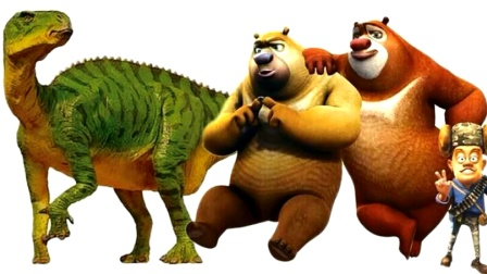 熊出没疯狂大战!恐龙侏罗纪世界超级飞侠,奥特曼恐龙总动员战队侏罗纪公园,七龙珠亲子游戏过家家视频
