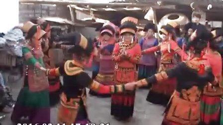 彝族婚礼、彝族结婚、彝族歌曲说各施铁  吉石伍支莫新婚之喜