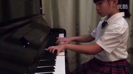 十级《f小调练习曲》  肖邦曲  子轩弹奏