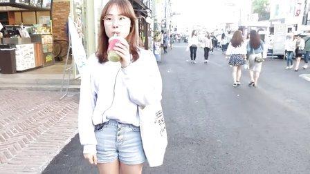 韩国街头最流行鲜榨果汁