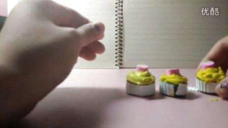 自制奶油土纸杯蛋糕(下)