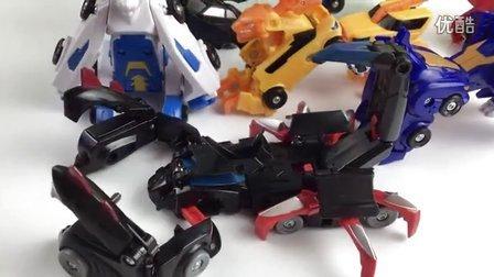 猎车兽魂 雷煞 变形玩具 魔幻车神 合体玩具