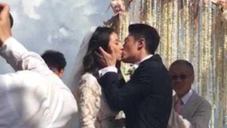 霍建华林心如结婚 两人哽咽宣读结婚誓词泪眼相望 深情热吻!