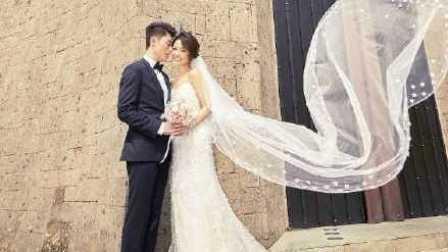 终于见光了!林心如霍建华婚纱照曝光新娘造型赏析