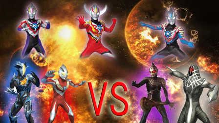 《Ultraman Fighting Evolution Rebirth》VS CPU  HARD难度 (欧布奥特曼音乐试用)小影!