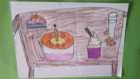 喜羊羊趣味卡通动漫玩具游戏 儿童亲子手工绘画美食蛋糕